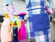 خطر مواد پاککننده خانگی