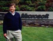 بیل گیتس موسس شرکت مایکروسافت