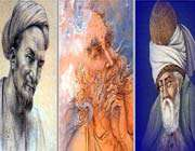 picture of the Persian poets
