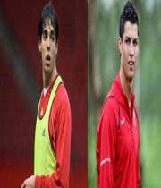 رونالدو و کاکا امید های اول دو تیم