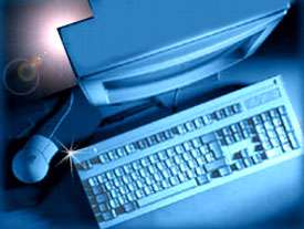 کی بورد، کامپیوتر
