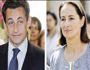picture of Sarkozy and Royal Make It to Runoff