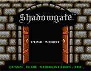 shadowgate Game