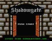 shadowgate Game