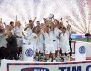 تیم فوتبال آ اس رم ،  با قهرمانی در جام حذفی و ناِب قهرمانی در سری آ سال خوبی را پشت گذاشت
