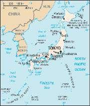 نقشه ژاپن