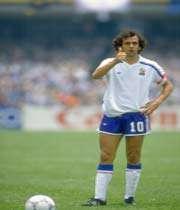 میشل پلاتینی از شماره 10 های اسطوره ای در فوتبال جهان