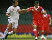 آخرین بازی گیگز برای تیم ملی فوتبال کشورش
