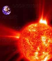 گرم شدن زمین توسط انرژی خورشیدی