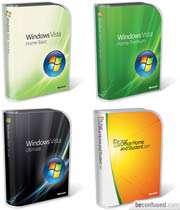 نسخه های مختلف ویندوز ویستا