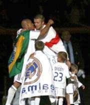 آخرین بازی روبرتو کارلوس و بکام برای رئال مادرید
