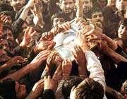 در سوگ حضرت امام خمینی (ره)