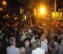 هیئات مذهبی در سوگ یاس گریستند