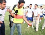 تماشاگران هرمزگان به عکاس ها هم رحم نکردند