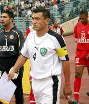 میرجلال کاسیموف کاپیتان تیم ملی ازبکستان