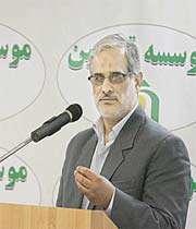 سردار جزینی رئیس هیئت مدیره باشگاه پاس