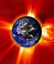 گرمشدن زمین توسط انرژی خورشیدی