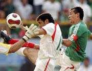 صحنه گل اول مکزیک
