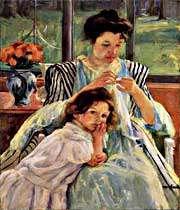 مادر ، سرمشق لحظه لحظه ی دختران