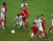 تساوی دو تیم ایران و چین در گروه  C