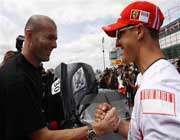 دو قهرمان ورزش جهان در کنار هم