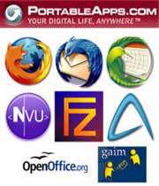برنامه portableapps