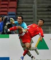 رودباریان دروازبان تیم ملی ایران