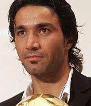 نکونام بهترین بازیکن فصل گذشته فوتبال ایران