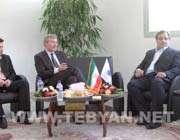 نشست سفیر آلمان با رییس فدراسیون تنیس