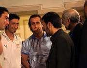 احمدی نژاد ناراضی از روند حرکتی ورزش فوتبال