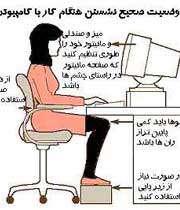 دردهای ناشی از کار با کامپیوتر