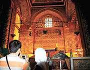 تصویری از مقبره مولانا در قونیه