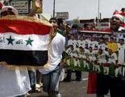 شادی هواداران عراق به خاطر اولین قهرمانی آسیایی