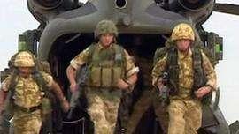 L'armée britannique se retire de Bassorah