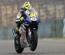 Moto: Valentino Rossi en pole du GP de Chine