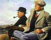 تصویری از زندگی جان فورد با بازی جان وین