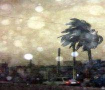 Un  cyclone a frappé l'Iran après Oman.