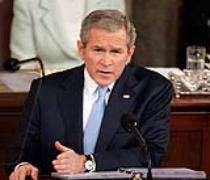 Bush justifie l'envoi des renforts militaires dans la région