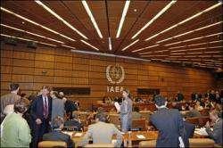 L'AIEA tient une réunion sur des activités nucléaires pacifiques de l'Iran.