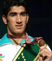 علی مظاهری، قهرمان بوکس بازی های آسیایی