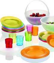 ظروف یک بار مصرف رنگی