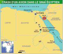 Neuf morts dans l'accident d'un avion de la FMO en Egypte