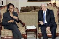 Rice à Amman pour des entretiens sur le processus de paix au Proche-Orient