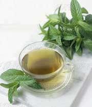 چای نعناع برای كنترل پُر مویی