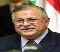 Jalale Talebani remercie l'Iran de se préoccuper des problèmes de l'Irak .