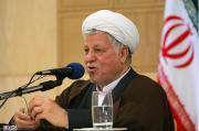 """Hashémi Rafsanjani : """"le pas franchi en direction de l'énergie nucléaire répond à une ligne politique approuvée par le guide suprême""""."""
