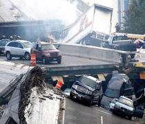 Un pont autoroutier s'est effondré à Minneapolis