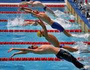 شنای رده های سنی