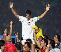 Le capitaine de l'équipe de football d'Irak ne veut pas rentrer dans son pays.