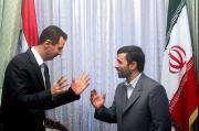 Bashar Assad  reçoit  Mahmoud Ahmadinejad.